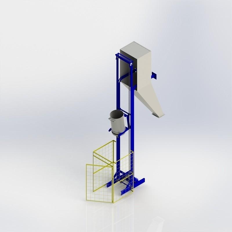 Transportador vertical Skip